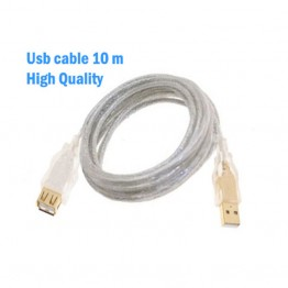 Καλώδιο Προέκτασης USB 10 Μέτρων με Θωράκιση