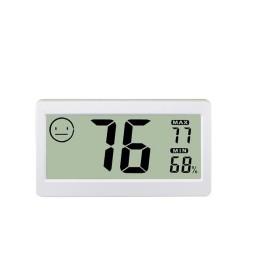 Ψηφιακό Θερμόμετρο, Υγρόμετρο Ακριβείας Με Μεγάλη Οθόνη DC 206