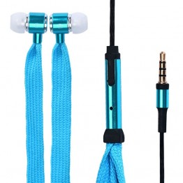 Ακουστικά Handsfree Κορδόνια - Shoelace Earphones with Mic 3.5mm CMR-ST001