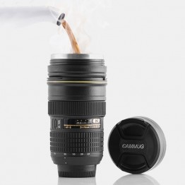 Μεγάλη Κούπα Φακός Φωτογραφικής Μηχανής Με Ανοξείδωτο Εσωτερικό AF 24-70mm