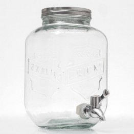 Vintage Γυάλινος Διανεμητής Ποτών