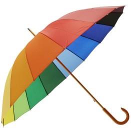 Ομπρέλα Βροχής Ουράνιο Τόξο 16 Ακτίνων - 110 εκατοστά