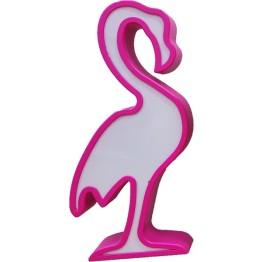 Φωτιζόμενος Διακοσμητικός Πίνακας LED Φλαμιγκο - Flamingo Lightbox