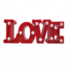 Διακοσμητικό φωτιστικό led Love