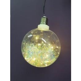 Χριστουγεννιατικη Ακρυλική Μπάλα XL με Led
