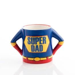 Κούπα 3D Σούπερ Μπαμπάς - 3D Super Dad Mug