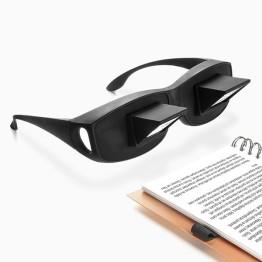 Πρισματικά Γυαλιά Οριζόντιας Προβολής Για Το Διάβασμα και Τηλεόραση Στο Κρεβάτι