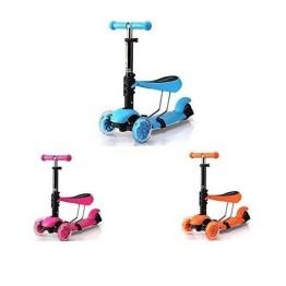 Παιδικό Πατίνι 3 Θέσεων με 3 Τροχούς LED Glider Scooter
