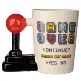 Κούπα με λαβή σε σχήμα Χειριστήριο Βιντεοπαιχνιδιού - Retro Joystick Mug