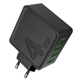 Φορτιστής Quadruple AWEI C-842 4 θύρες USB