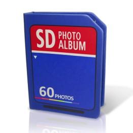Αλμπουμ Φωτογραφιών σε σχήμα SD Κάρτας - SD Photo Album Retro