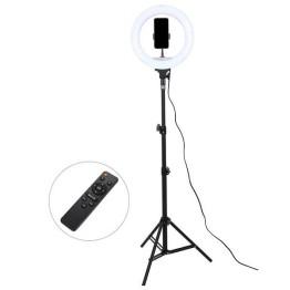 Επαγγελματικό Φωτογραφικό Φωτιστικό με Τηλεκοντρόλ 32cm Ring Lamp Light LED