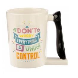 Κούπα με λαβή σε σχήμα Τηλεκοντρόλ - TV Remote Control Mug