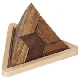 Ξύλινο Παζλ Μεγάλη Πυραμίδα