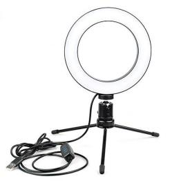 Φωτιστικό Δαχτυλίδι 26cm Ring Lamp Light LED 100-125 lux