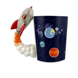 Κούπα με λαβή σε σχήμα Πύραυλου - Rocket Launch Mug