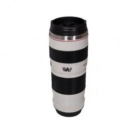Λευκή Κούπα Φακός Φωτογραφικής Μηχανής Με Ανοξείδωτο Εσωτερικό