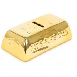 Κεραμικός Κουμπαράς σε Σχήμα Ράβδου Χρυσού