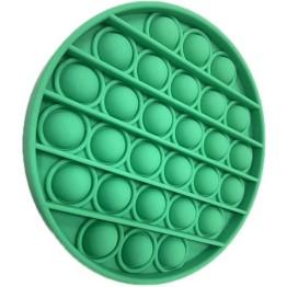 Anti Stress Fidget Bubble Pop Αγχολυτικό Παιχνίδι Κύκλος Πράσινο