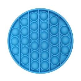 Anti Stress Fidget Bubble Pop Αγχολυτικό Παιχνίδι Κύκλος Μπλε