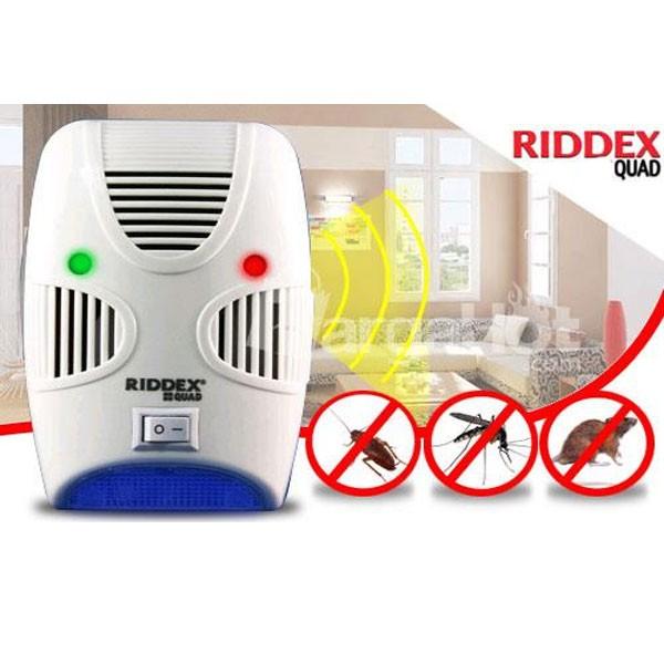 Συσκευή Απώθησης Τρωκτικών & Εντόμων - Riddex Quad