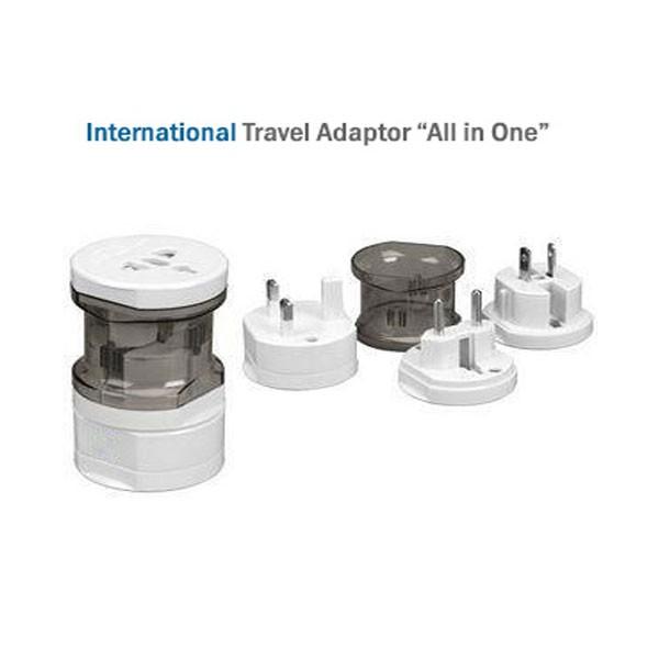 Διεθνής Πολλαπλός ταξιδιωτικός Αντάπτορας - International Travel Adaptor All in one