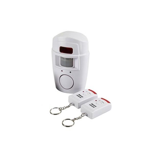 Ασύρματος Συναγερμός με ανιχνευτή κίνησης - ραντάρ και 2 τηλεχειριστήρια