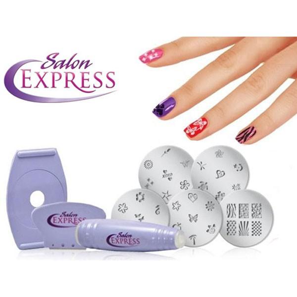 Σετ Διακόσμησης Νυχιών - Salon Express Nail Art Stamping Kit