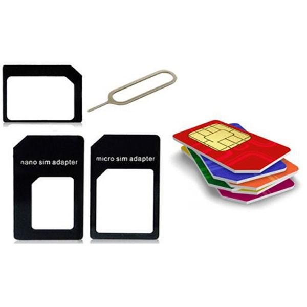 Σετ από αντάπτορες για ολες τις κάρτες SIM