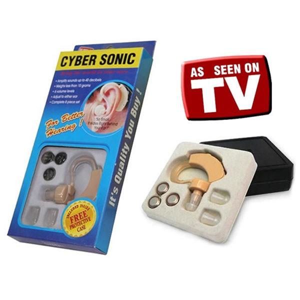 Ακουστικό ενίσχυσης ακοής  Βοήθημα Βαρηκοΐας - Cyber Sonic - 1τμχ