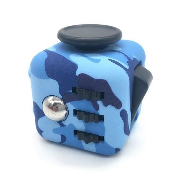 Anti Stress Fidget Cube Camouflage Αγχολυτικός Κύβος ABS