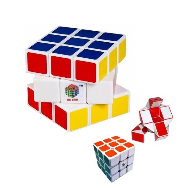 Ο Κύβος του Ρούμπικ σε 3 Διαφορετικά Μεγέθη και Σχήματα