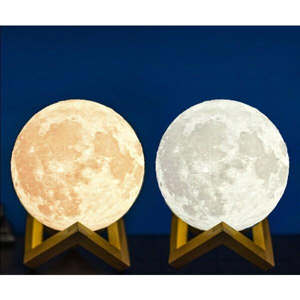 Φωτιστικό Φεγγάρι Moon Light Επαναφορτιζόμενο