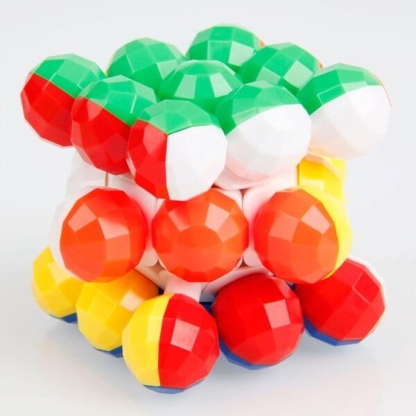 Round Bead Κύβος του Ρούμπικ 3x3x3 - Round Bead Rubicks Cube