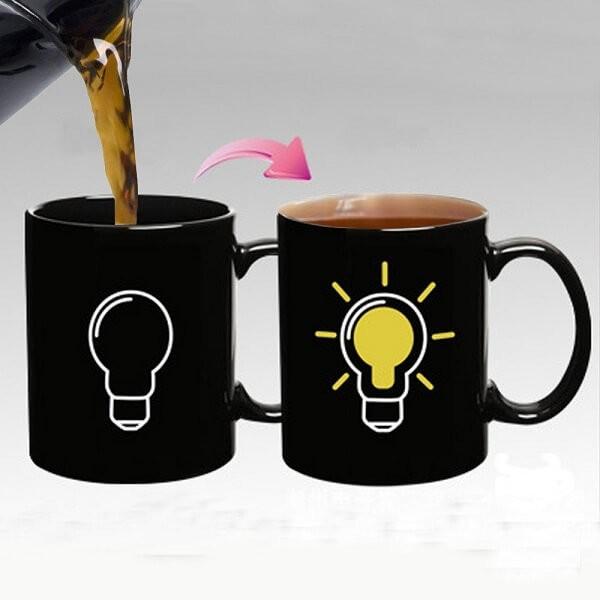 Μαγική κούπα που αλλάζει χρώμα - Idea Lamp Mug