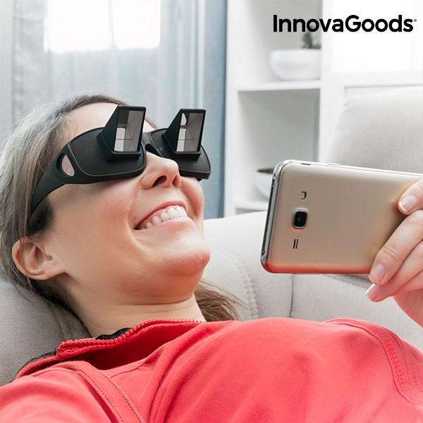 ca33c9935a Πρισματικά Γυαλιά Οριζόντιας Προβολής Για Το Διάβασμα και Τηλεόραση Στο  Κρεβάτι