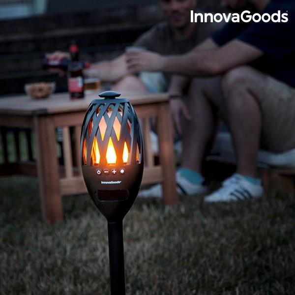 Δάδα LED με Ηχείο Bluetooth InnovaGoods