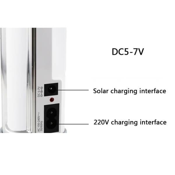 Επαναφορτιζόμενο Φωτιστικό Ασφαλείας 8.2W με 60 SMD LED