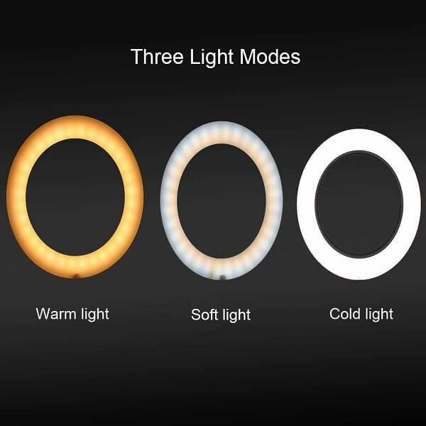 Επαγγελματικό Φωτογραφικό Φωτιστικό Δαχτυλίδι 16cm Ring Lamp Light LED