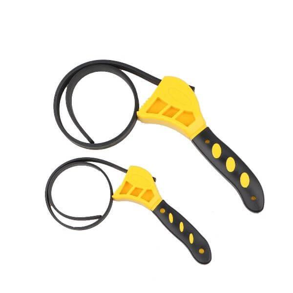 Ρυθμιζόμενος Κάβουρας με Ιμάντα Adjustable Rubber Strap Wrench