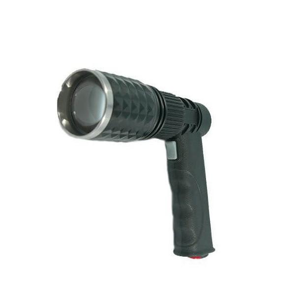 Επαναφορτιζόμενος Φακός με Λαβή και Βάση Τρίποδο Multifunctional Pistol Light