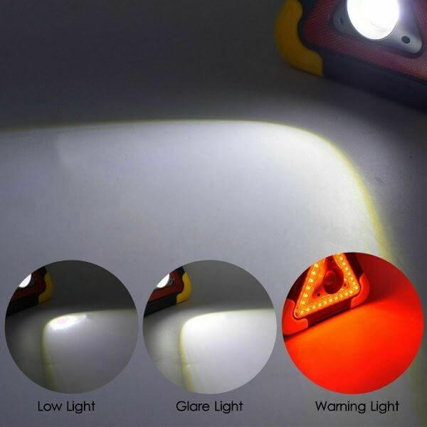 Επαναφορτιζόμενος Φακός Εργασίας Multi Function Work Light