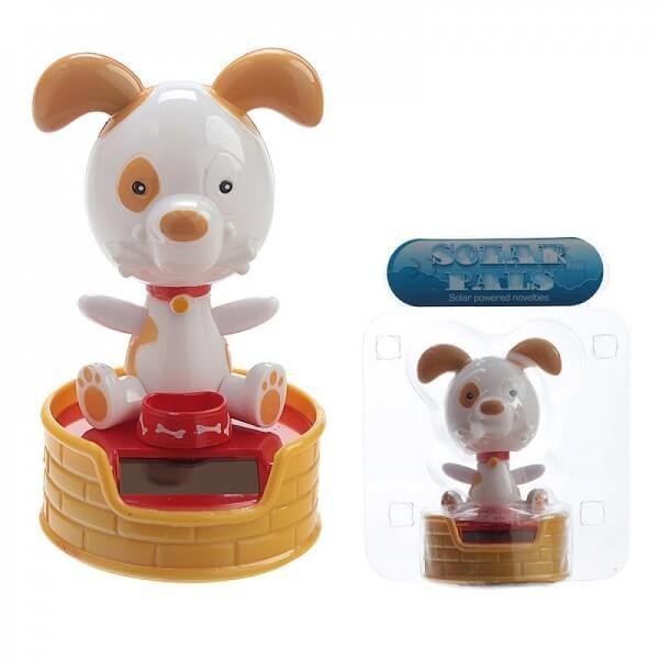 Ηλιακή Κούκλα με Κίνηση Σκυλάκι με Μπολ - Ο Μαξ