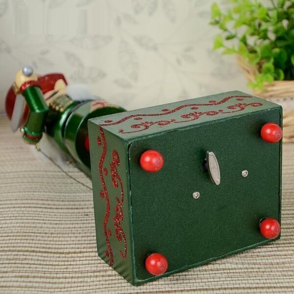 Ξύλινο Μουσικό Κουτί Καρυοθραύστης 32 εκατοστών