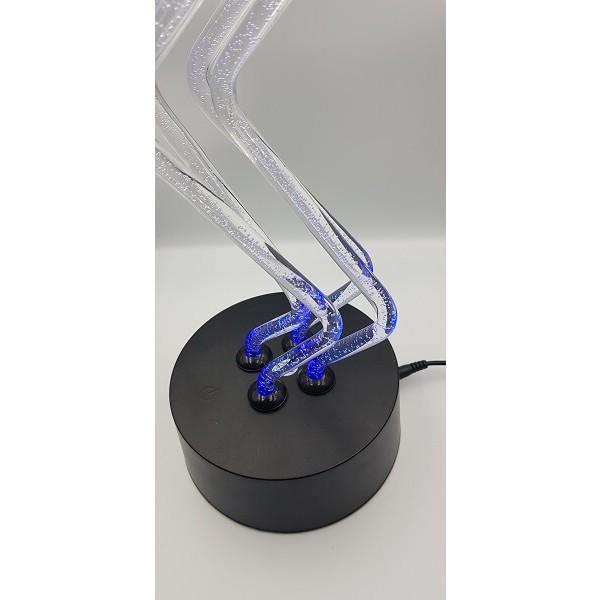 Φωτιστικό Plexiglass LED Dancing Art