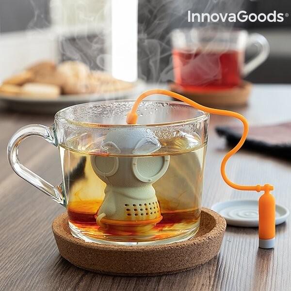 Συσκευή Τσαγιού Σιλικόνης Diver-t InnovaGoods