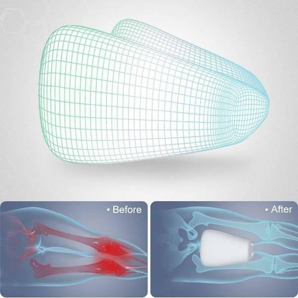 Ανατομικό Μαξιλάρι Ποδιών Ύπνου - Memory Foam Leg Pillow