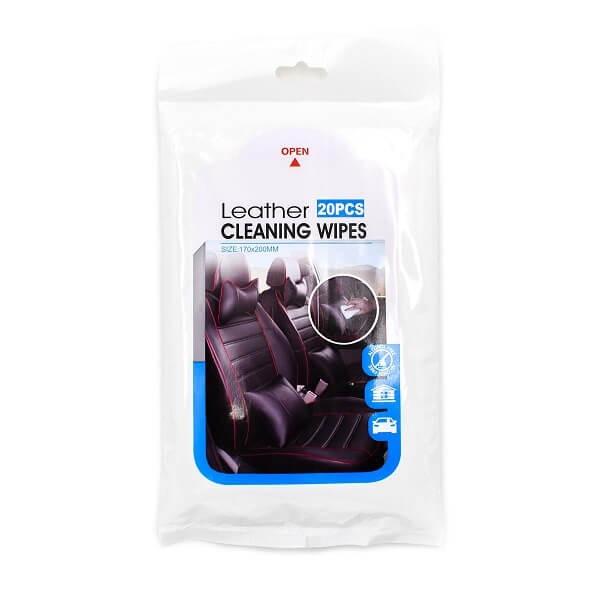 Πανάκια Καθαρισμού Δέρματος Αυτοκινήτου - Leather Cleaning Wipes