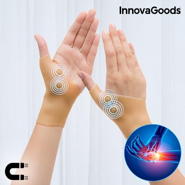 Περικάρπια Συμπίεσης με Μαγνητικά Σημεία InnovaGoods (Σετ των 2 τμχ)