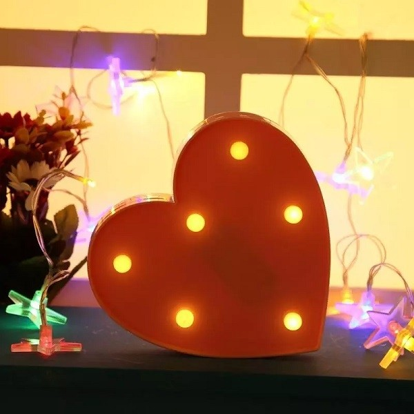 Διακοσμητικό Φωτιστικό Led Mini Καρδιά
